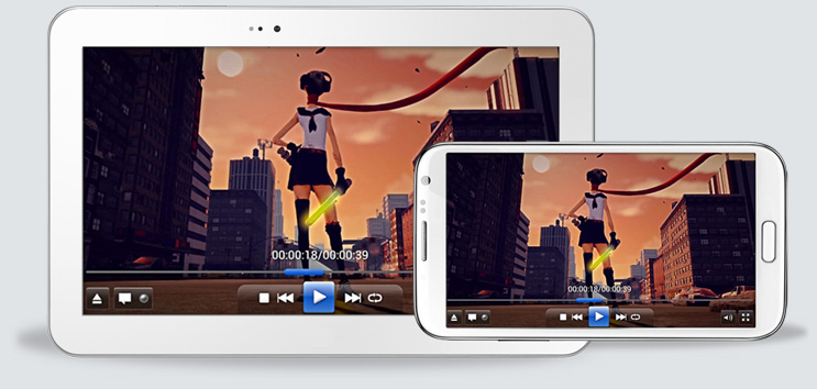 Allplayer video player для Android